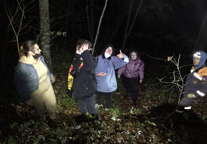 В Сочи группа туристов заблудилась в ущелье