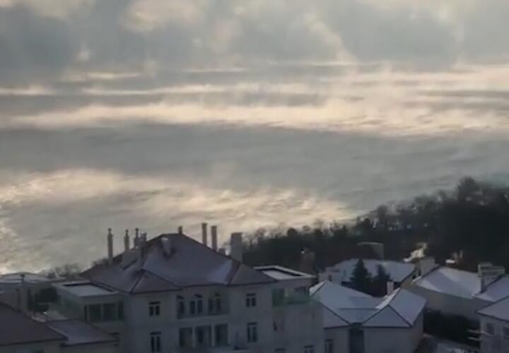 Черное море «закипело» из-за холодов