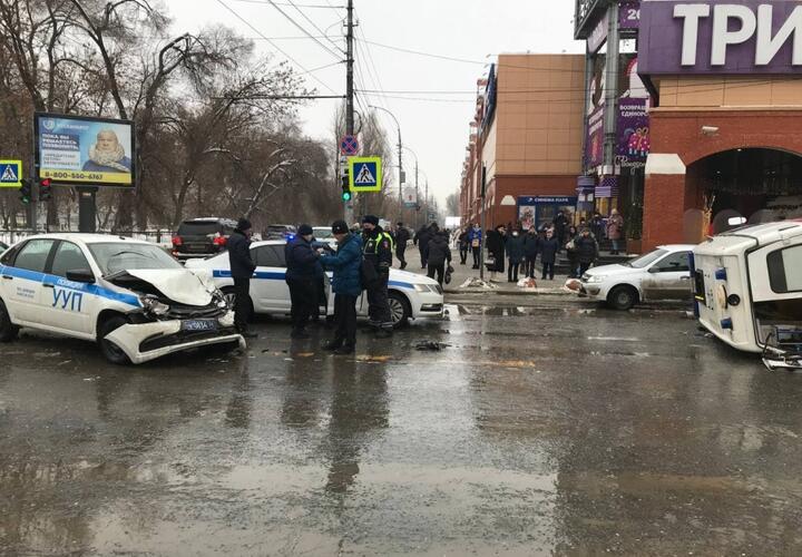 Пациент умер после ДТП с участием скорой и полицейской машины