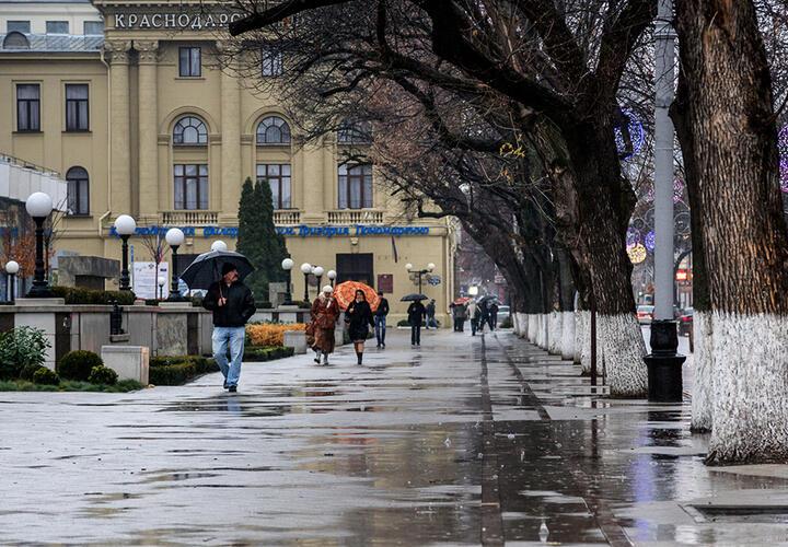 В Краснодарском крае пройдут дожди и усилится ветер