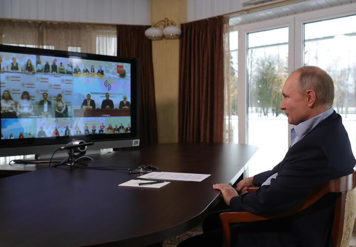 Владимир Путин встретился со студентами российских вузов