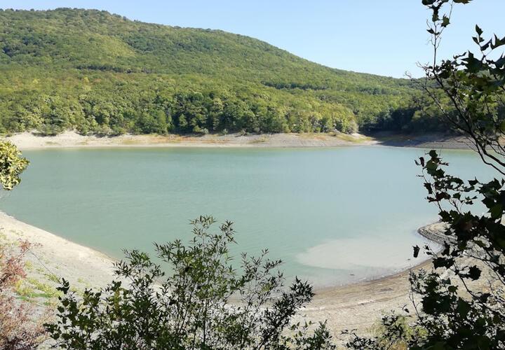 Водохранилище в Новороссийске наполняется водой
