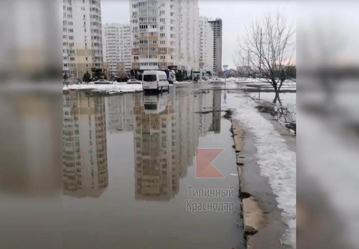 Краснодарские улицы вновь затопило фекалиями (ВИДЕО)