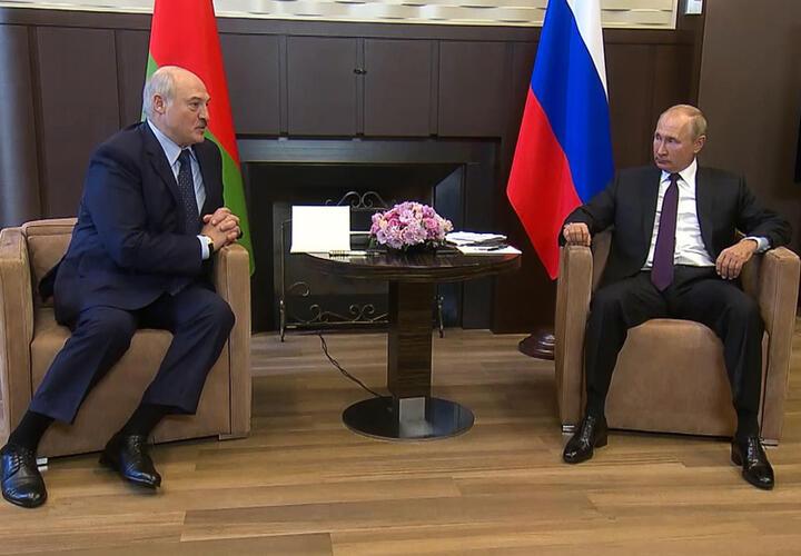 Стала известна дата переговоров Путина и Лукашенко в Сочи