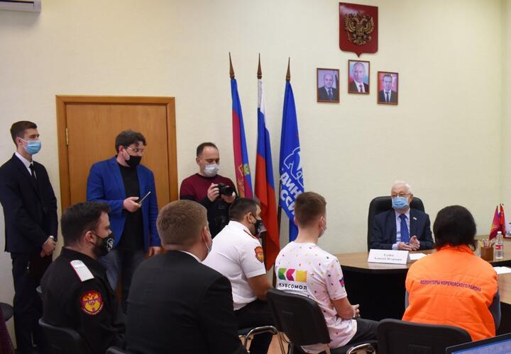 Поговорили на равных: Алексей Езубов встретился с молодежью