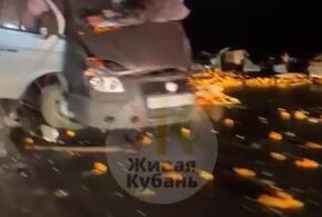 На Кубани крупное ДТП парализовало автомобильное движение