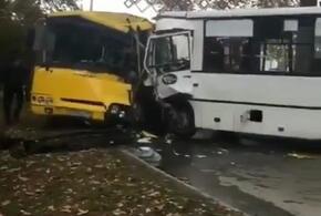 В Анапе столкнулись два пассажирских автобуса