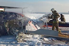 Частный вертолет упал под Воронежем