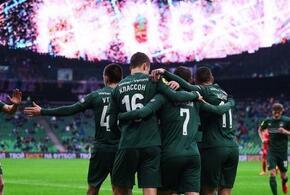 ФК «Краснодар» одержал первую победу в Лиге чемпионов