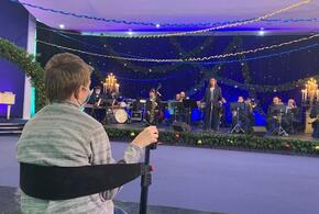 Мальчику с инвалидностью из Тимашевска устроили персональный концерт