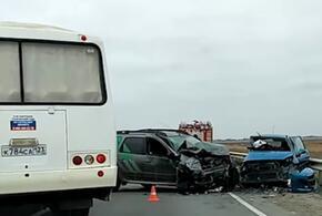 На Кубани в лобовом ДТП погиб водитель