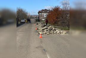 Под Новороссийском уничтожили новую дорогу