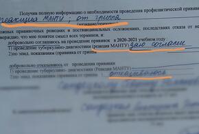 Школьнику на Кубани ставили прививки без разрешения матери