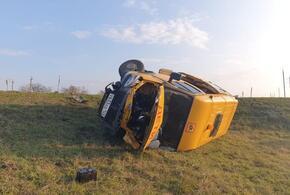 В ДТП со школьным автобусом на Кубани пострадало четверо детей