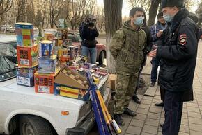 В Краснодаре зафиксирована нелегальная продажа пиротехники