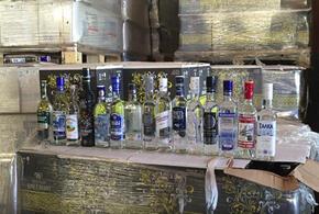 В Краснодарском крае нашли почти 10 тысяч литров незаконного алкоголя