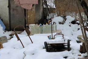 Жители Туапсинского района топят снег из-за отсутствия воды
