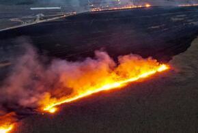 Крупный пожар в Анапе потушен