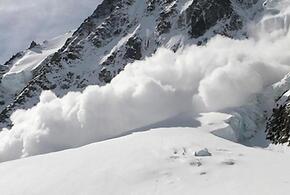 В горах Сочи сохраняется лавинная опасность