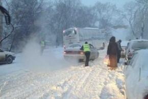 На трассе в Краснодарском крае открылись пункты обогрева