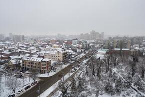 В Краснодарский край вернулась зима