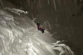 В Красной Поляне лыжник-фрирайдер при падении сломал ногу