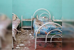 В кубанской больнице на ребенка обрушился потолок