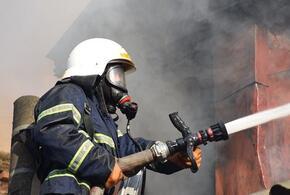 В Туапсе в частном доме произошел пожар