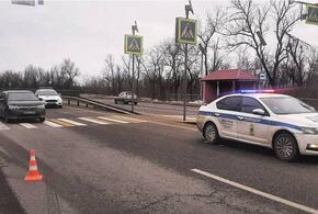 Автоледи на отечественной легковушке сбила пешехода