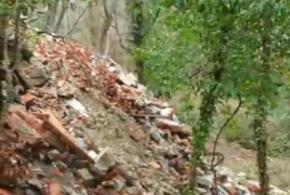 Еще одну гигантскую свалку обнаружили в лесу под Туапсе