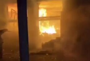Ночью под Геленджиком горел отель