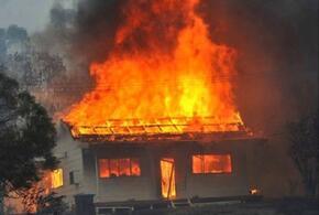 При пожаре в Краснодарском крае погибли два человека