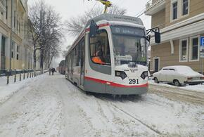Прогулка по Краснодару: второй день снегопада