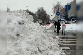 Снегопад снова парализовал Краснодар