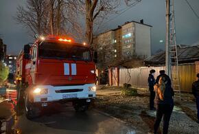 В Армавире пожар уничтожил частый дом (ВИДЕО)