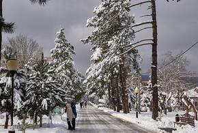 В Горячем Ключе школьники переведены на дистанционное обучение из-за снегопада