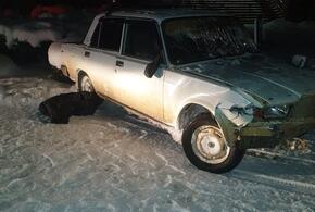 В Краснодарском крае автоугонщик, пытаясь скрыться от ДПС, попал в аварию