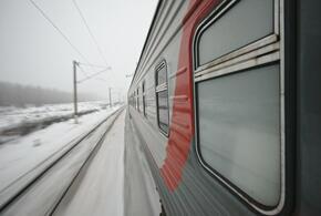 В Краснодарском крае из-за снега встали поезда