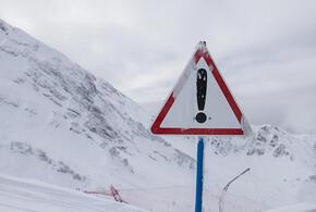 В Краснодарском крае продлили экстренное предупреждение из-за схода лавин