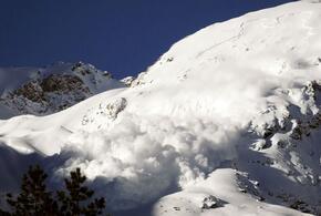В горах Сочи прогнозируется сход лавин