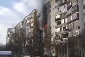 В многоэтажке при пожаре погибли трое детей (ВИДЕО)