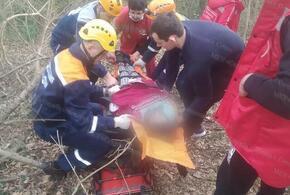 В Сочи девочка упала с высоты и сломала ногу
