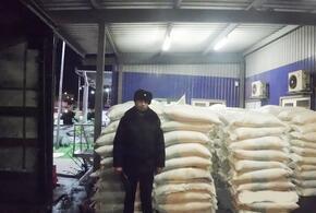 В Сочи на таможне задержали более восьми тонн сахара