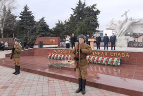 В Усть-Лабинске отметили  78-ю годовщину освобождения от  фашистских захватчиков