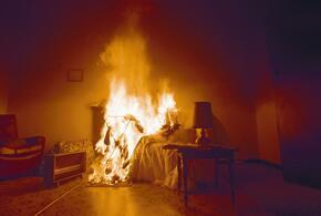Жительница Кубани сожгла дом бывшего мужа