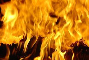 Частный дом сгорел в Новороссийске