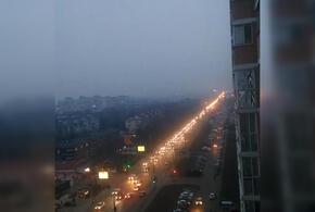 Краснодар заволокло дымом (ВИДЕО)