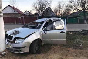На Кубани пьяный водитель перевернул иномарку