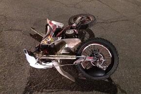 На Кубани в ДТП с легковушкой пострадал юный мотоциклист