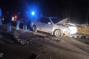 Под Анапой спасли застрявшего в искореженной машине